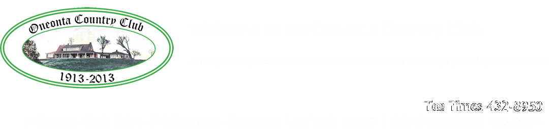 Oneonta Country Club